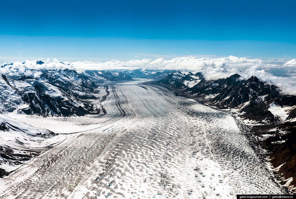 Ледник Кахилтна (Kahiltna glacier)
