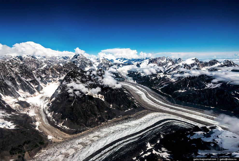 Ледник Токоситна (Tokositna glacier)