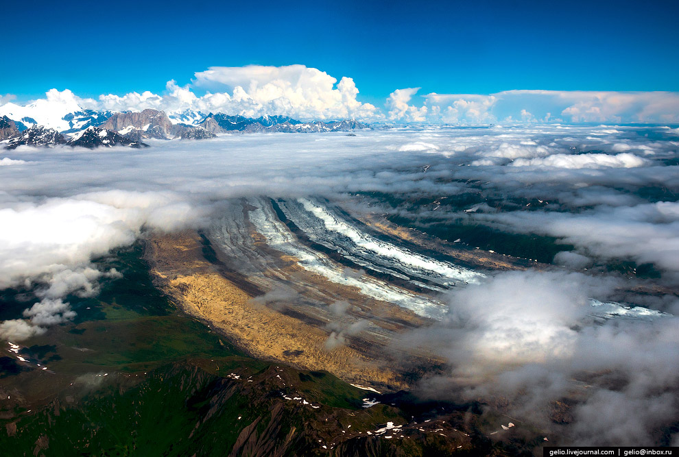 Ледник Рут (Ruth glacier)