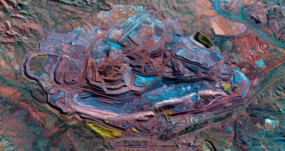 Железорудное месторождение в Западной Австралии