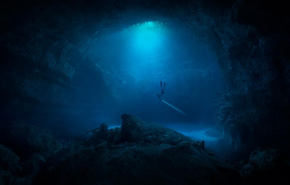 Подводная пещера, Тулум, Мексика