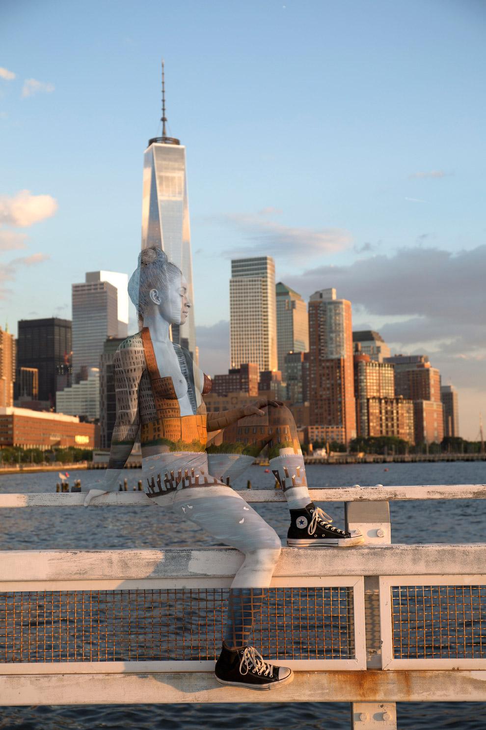 Городской пейзаж Нью-Йорка