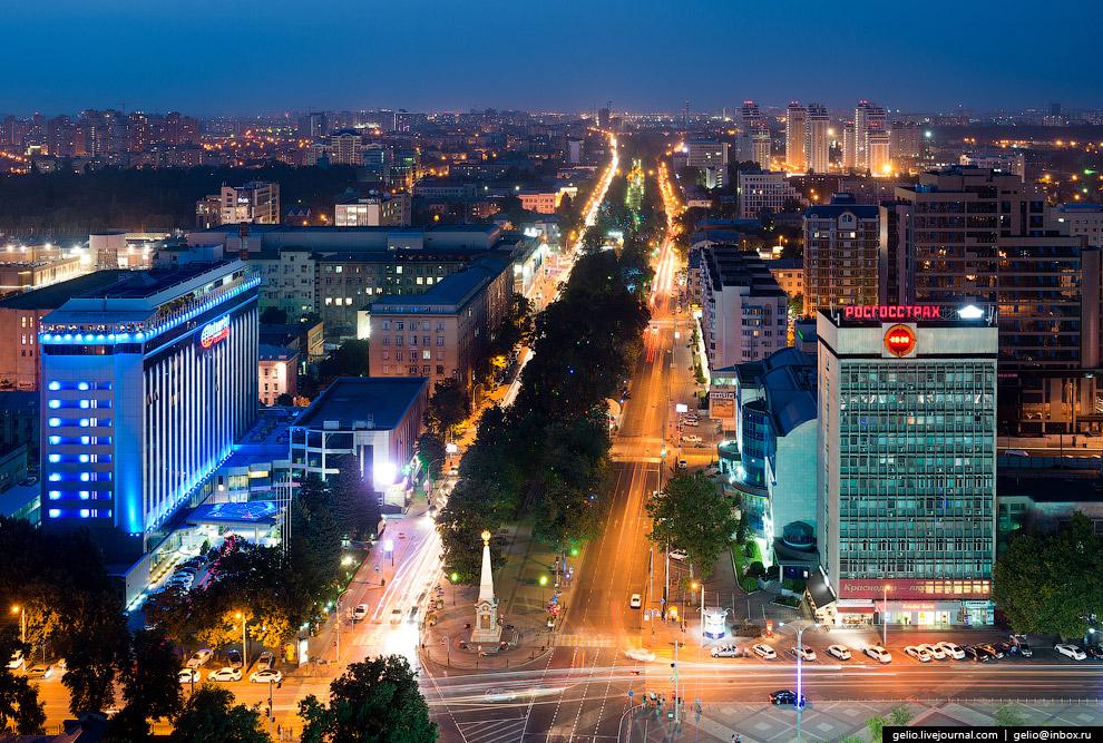 Центральная улица Краснодара — ул. Красная