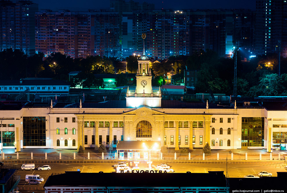 Краснодарский железнодорожный вокзал