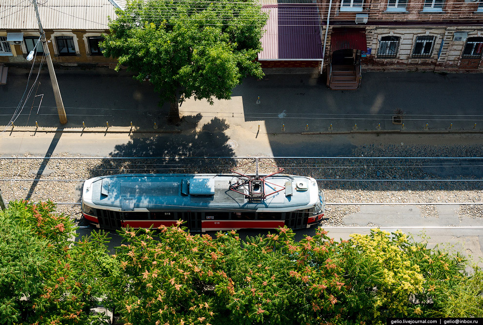 Краснодарский трамвай.