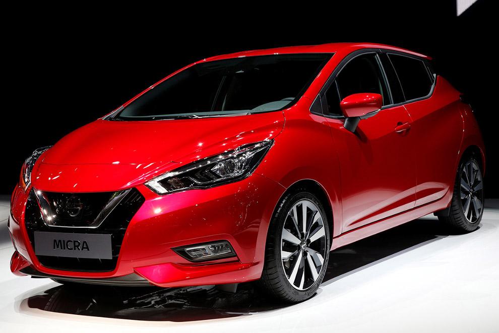 Новое поколение Nissan Micra