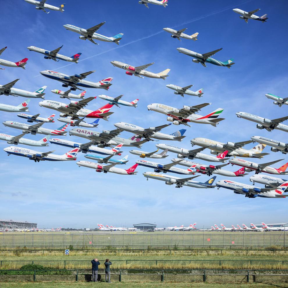 Аэропорт Хитроу, Лондон, Англия