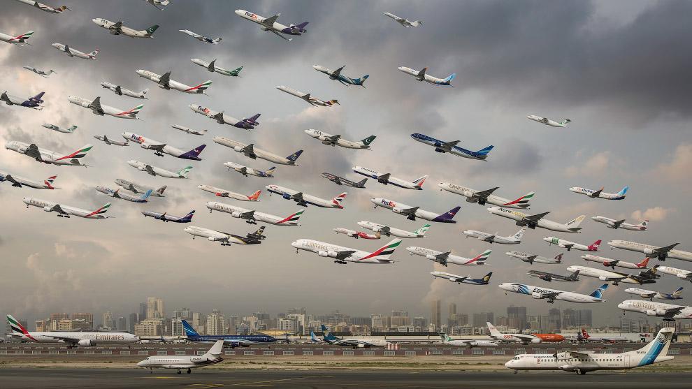 Международный аэропорт Дубая.