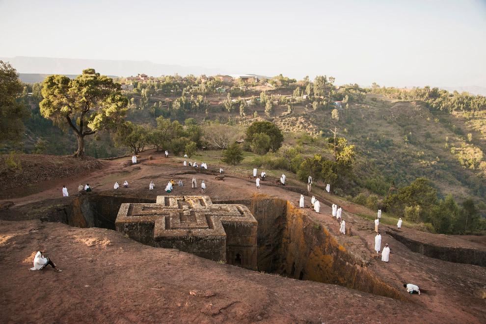 Скальные церкви в Лалибэле, Всемирное наследие ЮНЕСКО