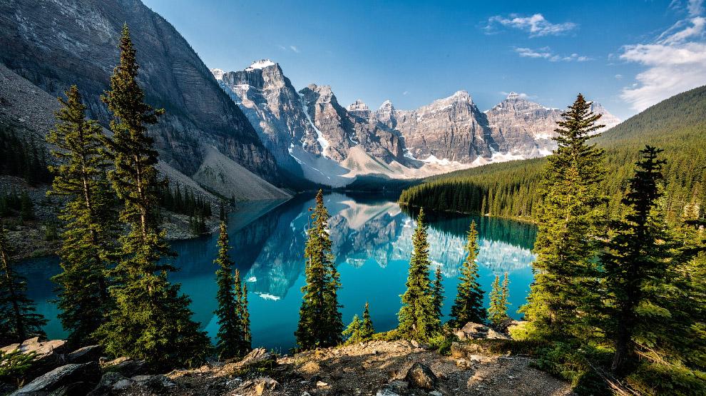 Скалистые горы в провинции Альберта, Канада