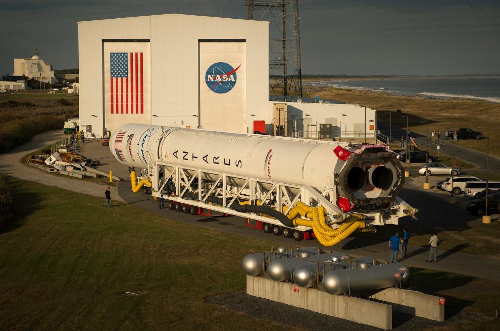 Ракета-носитель Antares, космический грузовик Cygnus («Лебедь»)