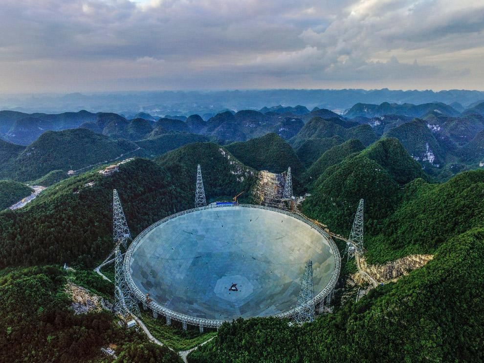 Телескоп FAST: в поисках внеземных цивилизаций