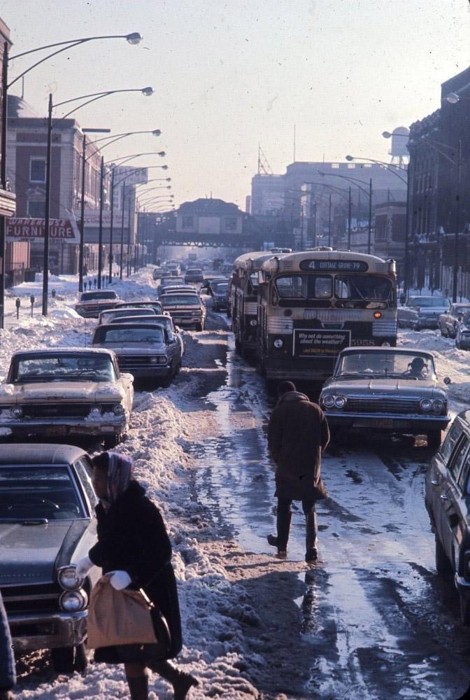 Zima w Chicago, 1967.
