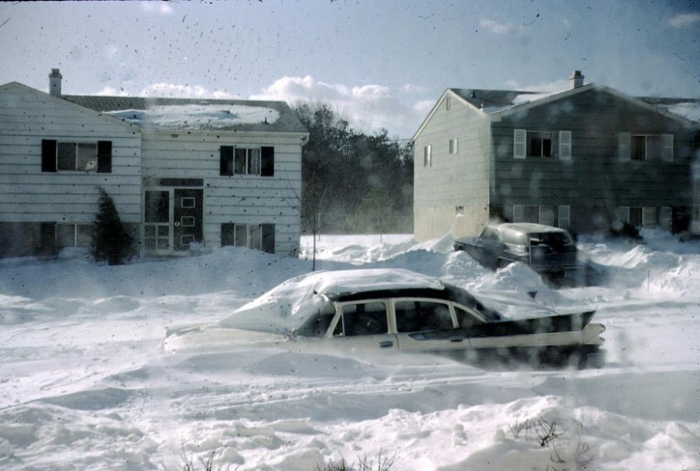 Снежная буря 1966 года.