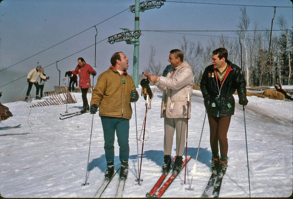 Горнолыжный курорт, 1967 год.