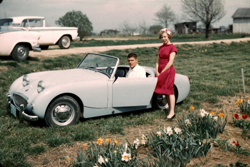 На ферме, штат Мэриленд, 1960 год.