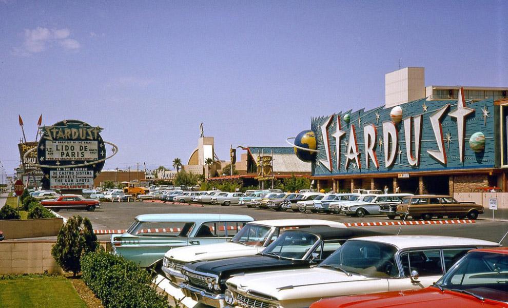 Stardust Casino, Las Vegas, Nevada, w 1964 roku.