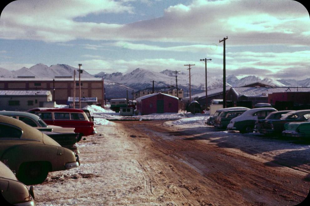 Где-то на Аляске, 1960 год.
