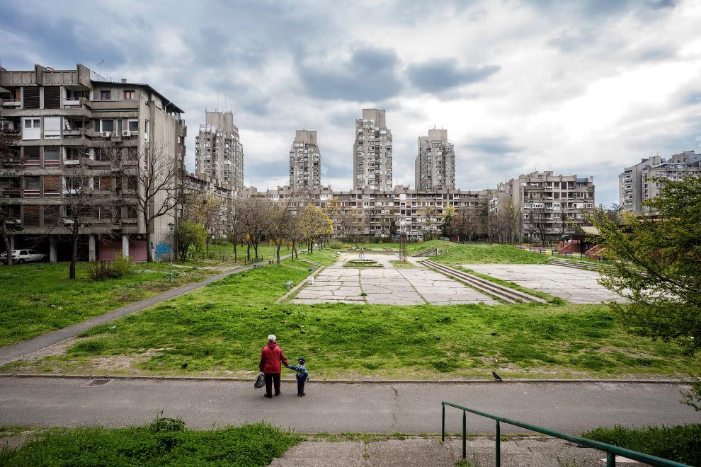 Жилой комплекс в Белграде, Сербия