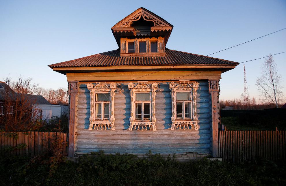 Дом в Ярославской области России