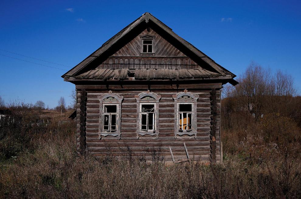 Деревня Осурово в Ярославская области