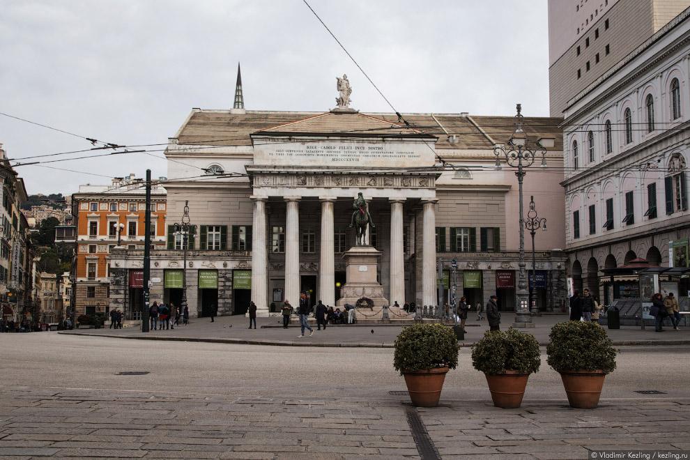 главный городской театр Карло Феличе