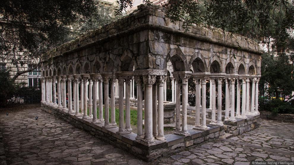 руины монастыря Святого Андрея