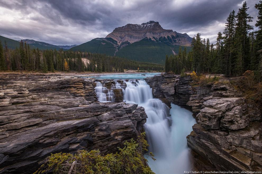 Водопады Атабаска