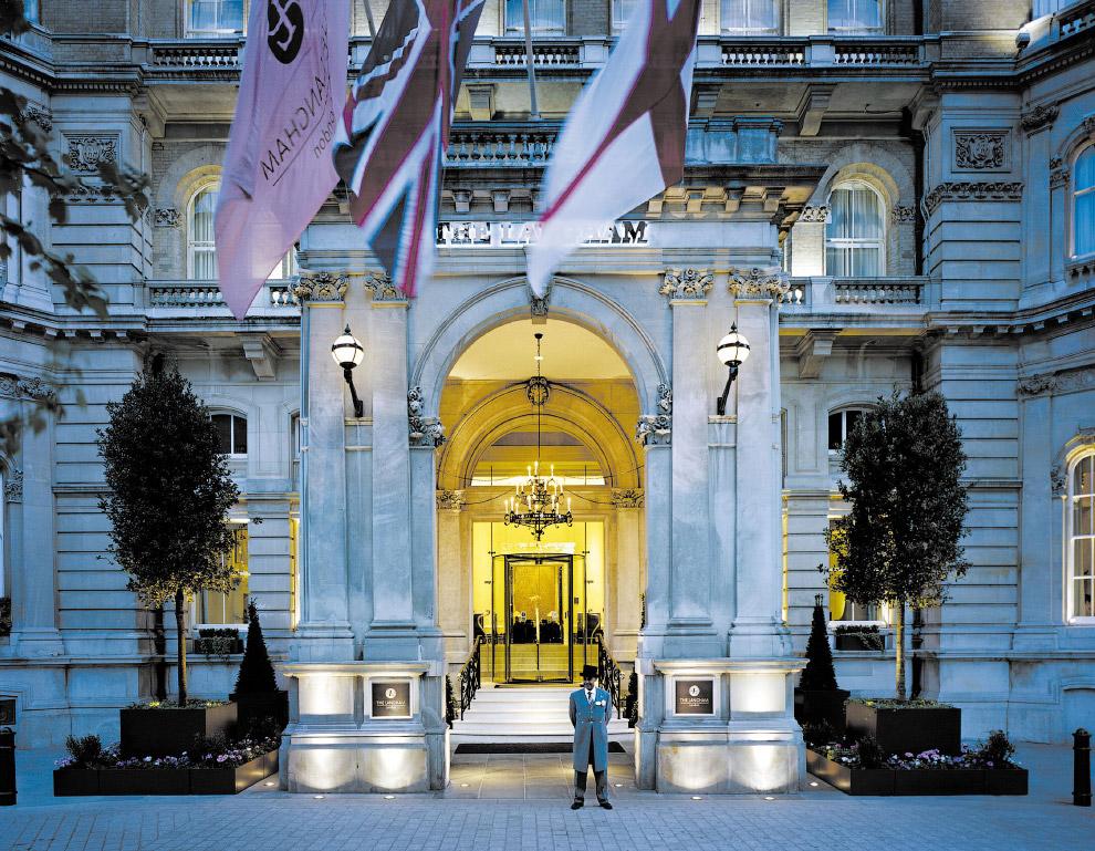 лондонский отель Langham