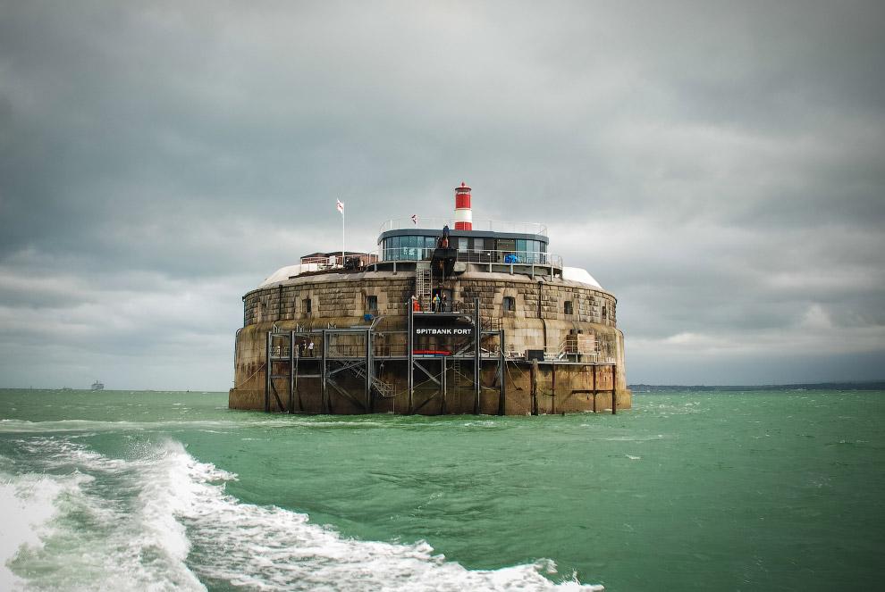 британский форт Спитбанк XIX