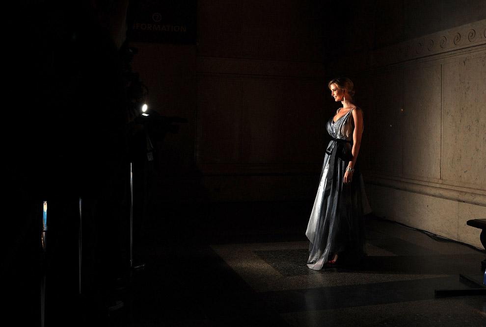 Иванка Трамп в Американском музее естественной истории
