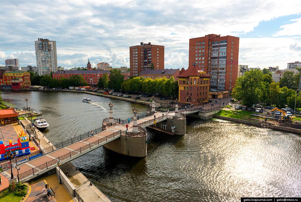 Юбилейный мост через Преголю