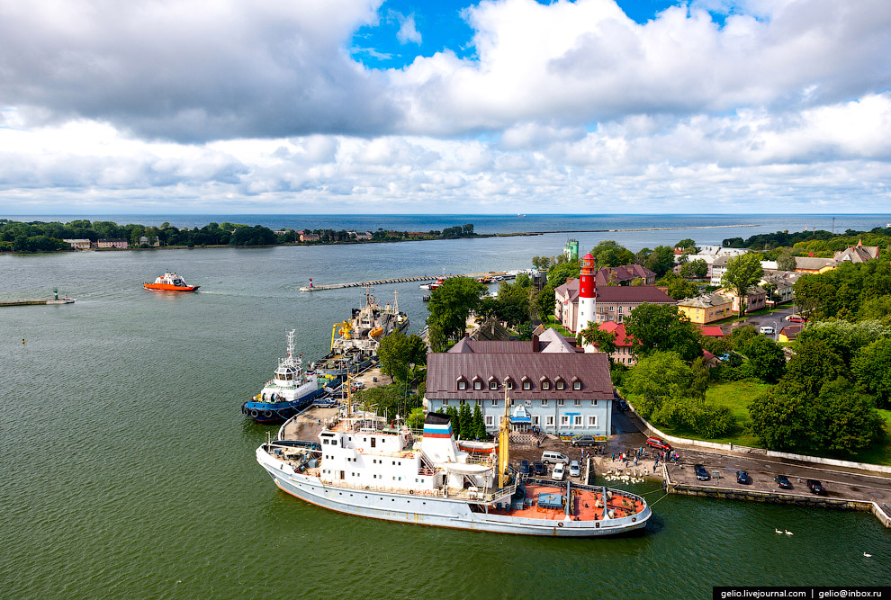 Балтийск — самый западный город России