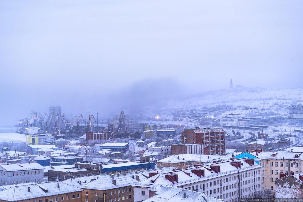 Город Мурманск