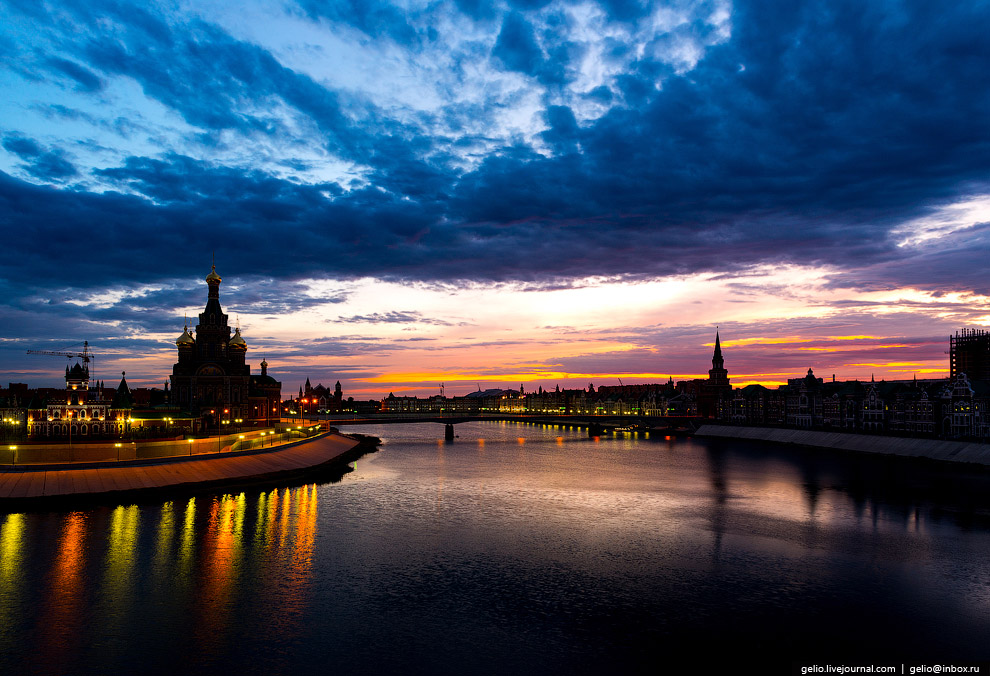 Вид на реку Малая Кокшага