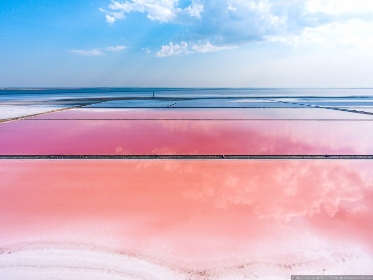 Сасык-Сиваш — крупнейшее озеро Крыма