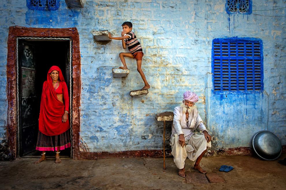 Семейный портрет из Раджастана