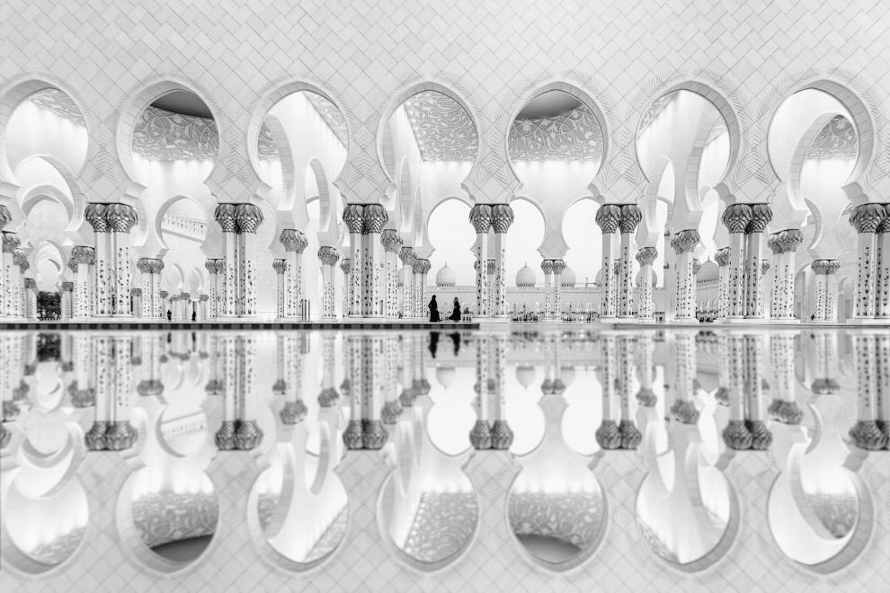 Большая мечеть шейха Заида в Абу-Даби