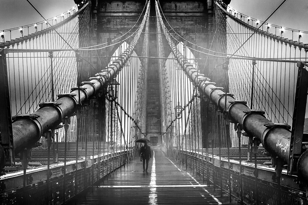 Туман на Бруклинском мосту