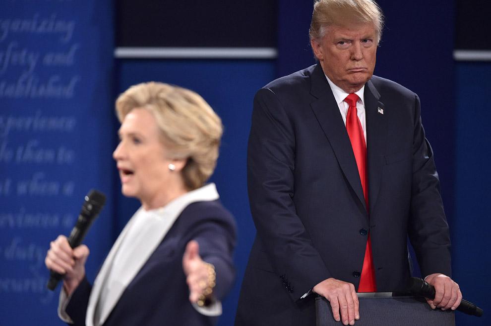 Дебаты кандидатов в Университете Вашингтона в Сент-Луисе, штат Миссури
