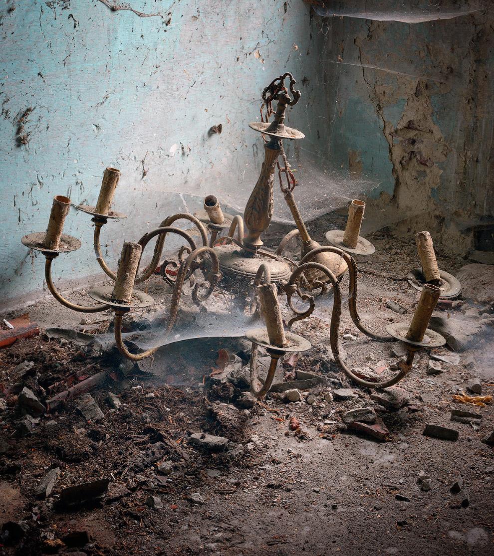Заброшенный бельгийский дом