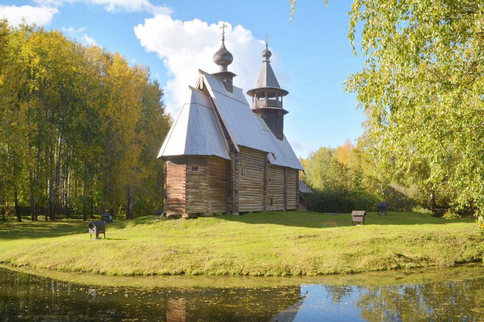 церковь Всемилостливого Спаса