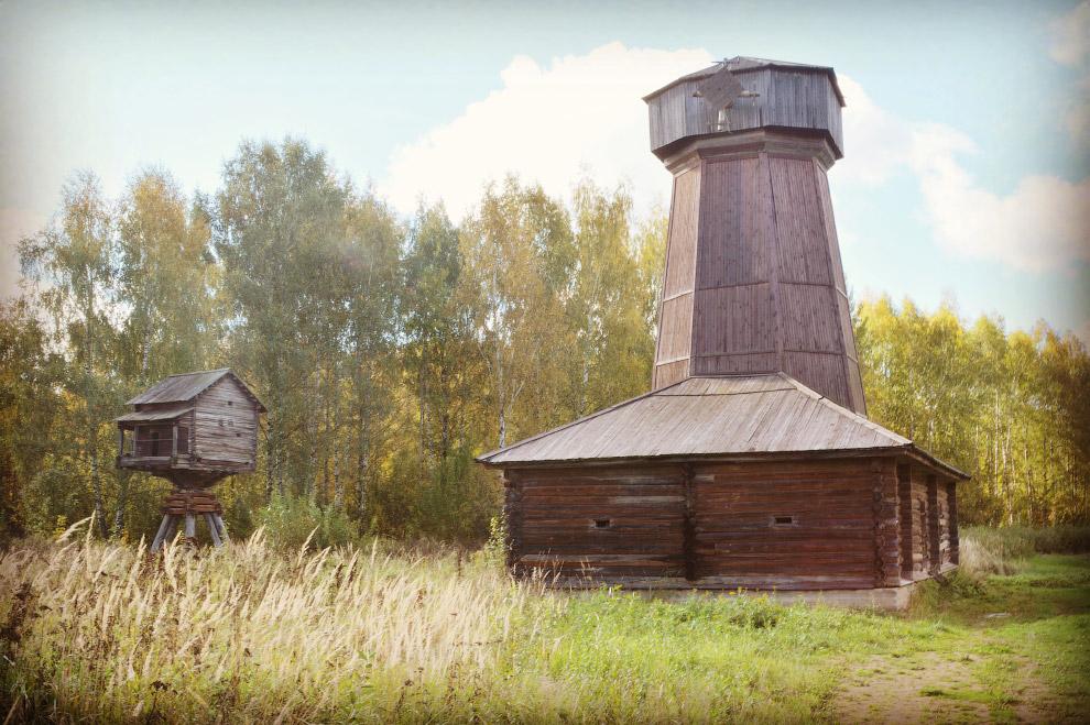 мельница-шатровка из деревни Спас Нерехтского района