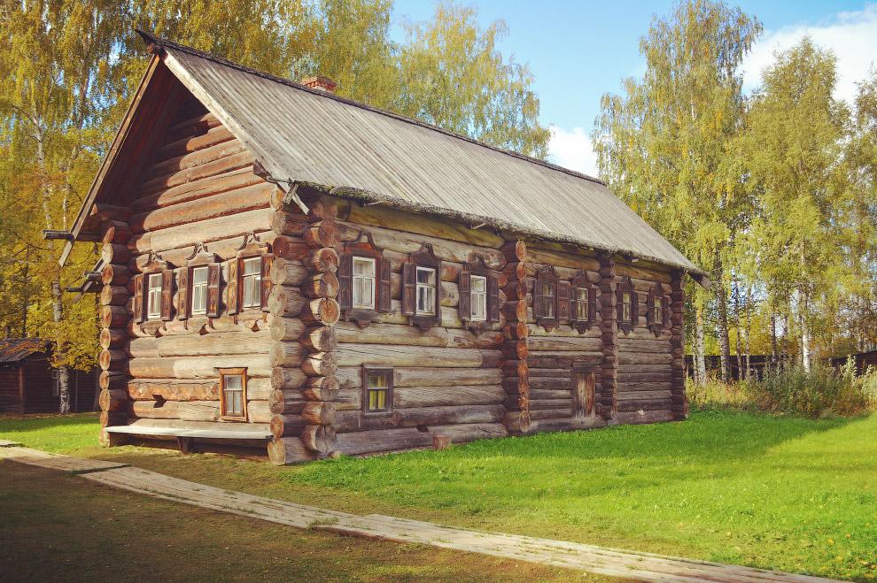 крестьянский дом Скобелкина