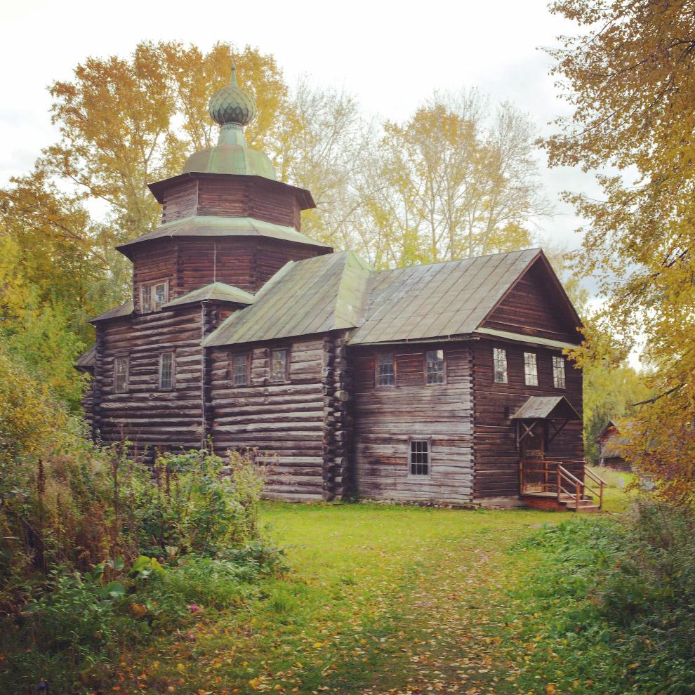 церковь ярусного типа Илии Пророка из села Верхний Берёзовец