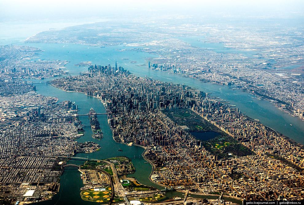 Нью-Йорк. Остров Манхэттен
