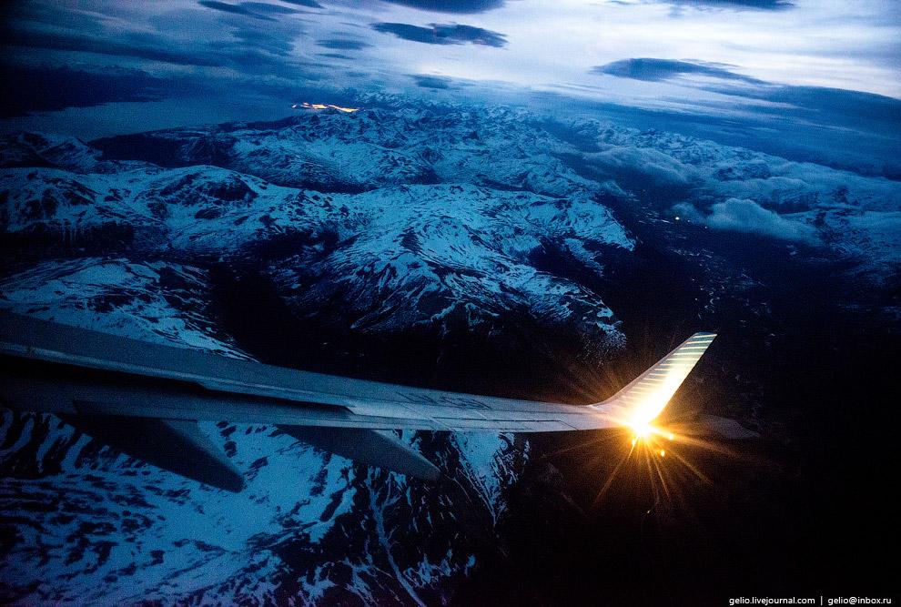Горы Патагонии. Огненная Земля.