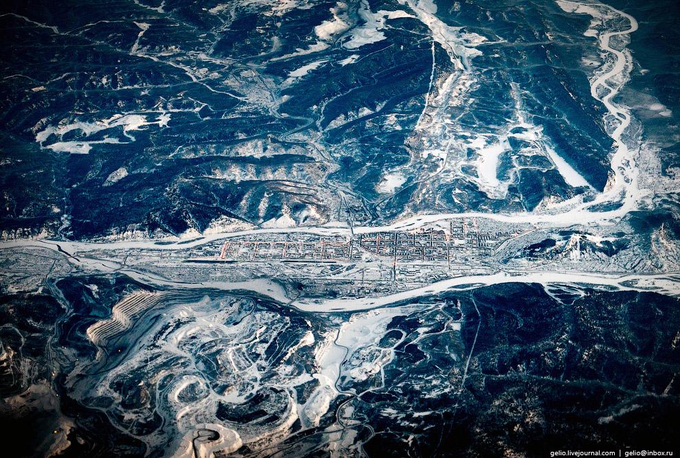 Междуреченск. Расположен на юге Западной Сибири