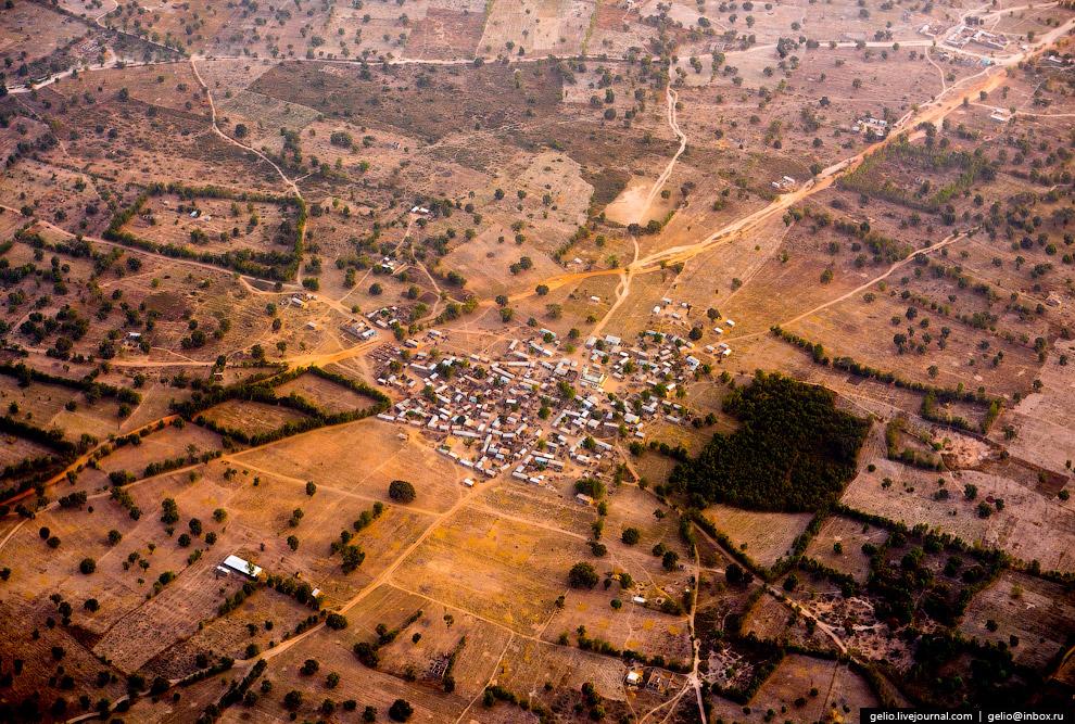 Небольшая деревня возле Бамако, столицы Мали.