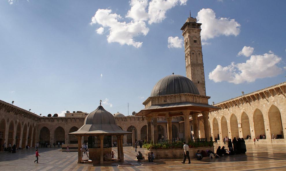 Мечеть Омейядов Алеппо